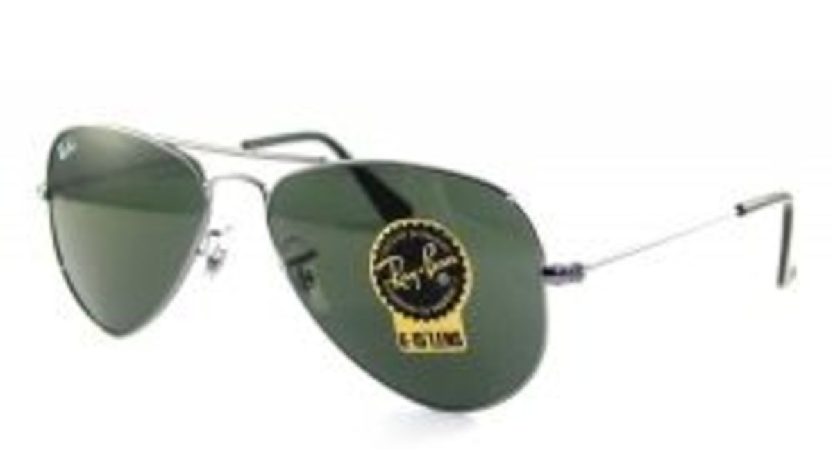 52mm Ray Ban Aviators