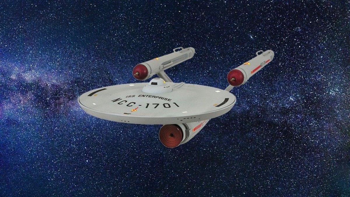 The classic Enterprise.