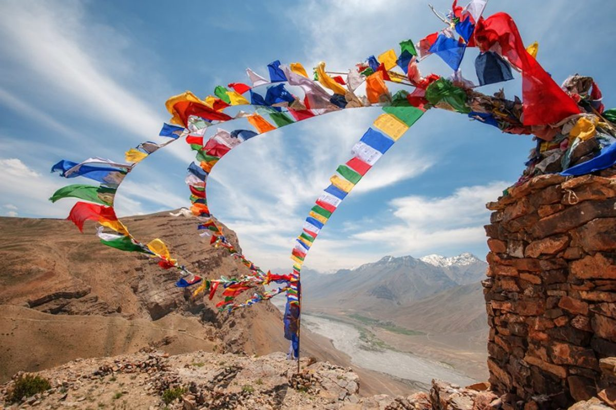There's a special meaning behind the colors of the Tibetan Prayer Flags.