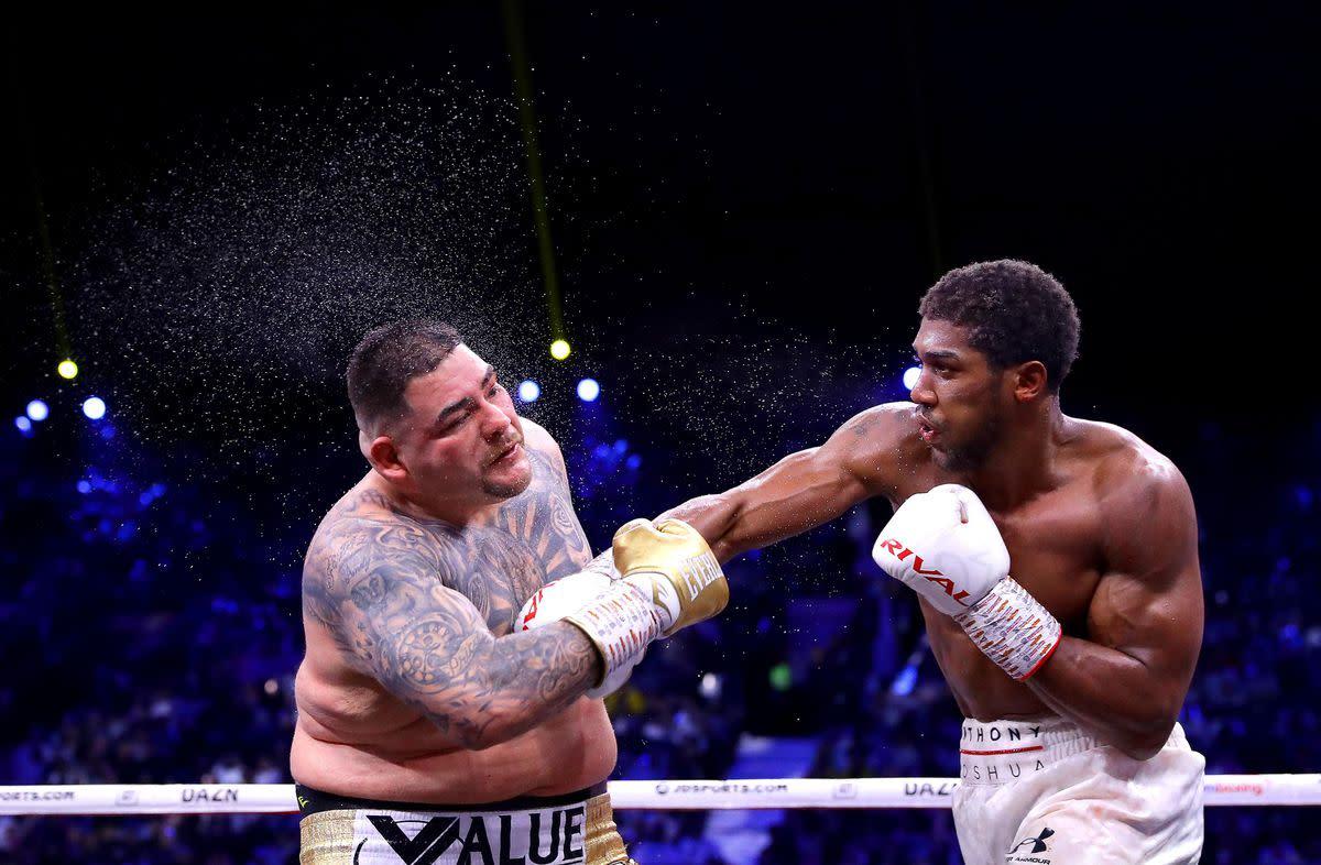 Anthony Joshua fighting Anthony Ruiz Jr.