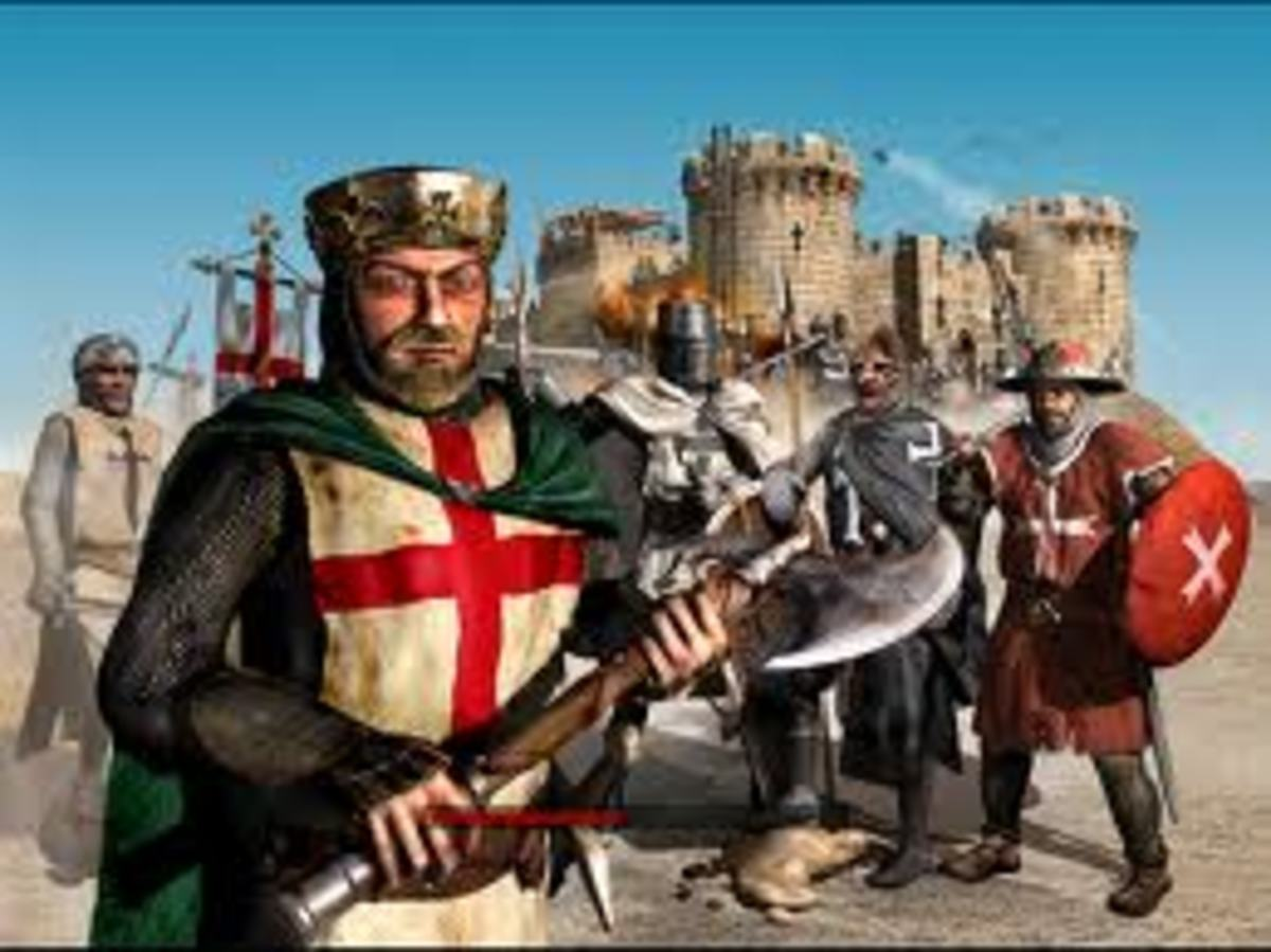The crusaders was a war where the Christian believed that they wanted to rescue Jerusalem from the Saracens, because Jerusalem was the place where their religion came from.