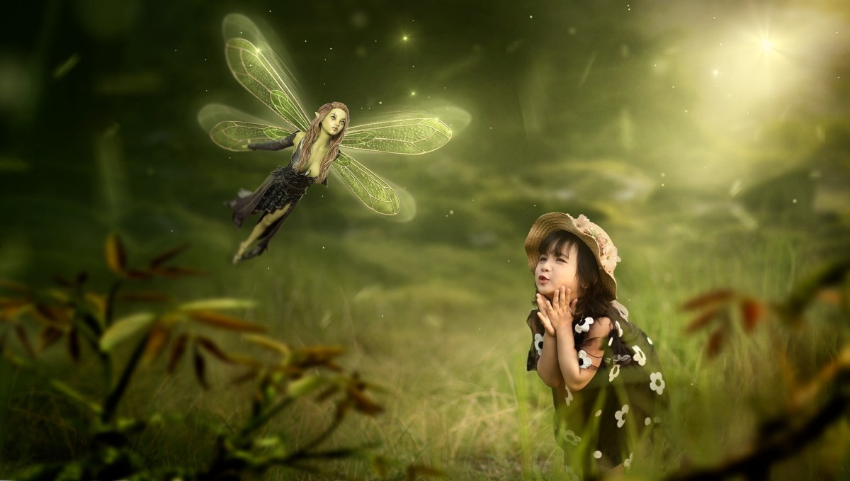 There Are Fairies in the Garden: Image by Stefan Keller from Pixabay