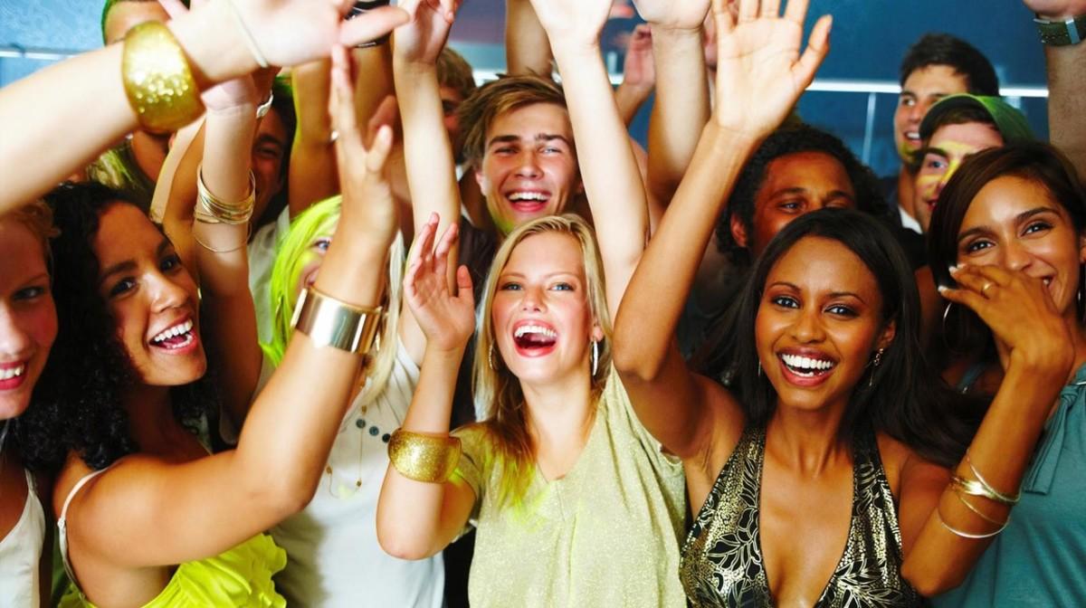 A Millennial's party in progress