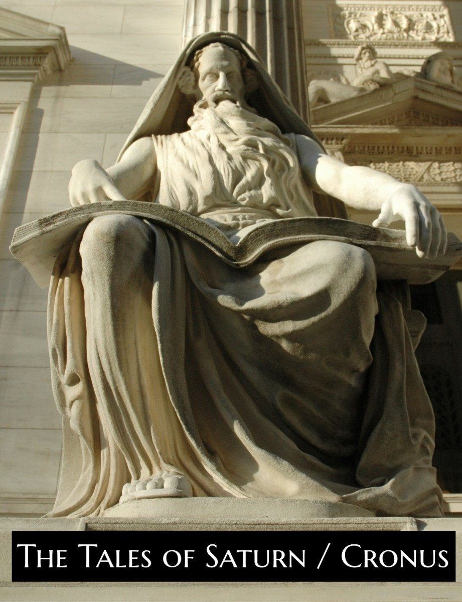 It is hard for scholars to discern what is original about Saturn vs. what was taken from the Greek myths around Cronus. The lineage myth for Cronus was adapted for Saturn. As well as the myth of Cronus battling Zeus for control of the universe.