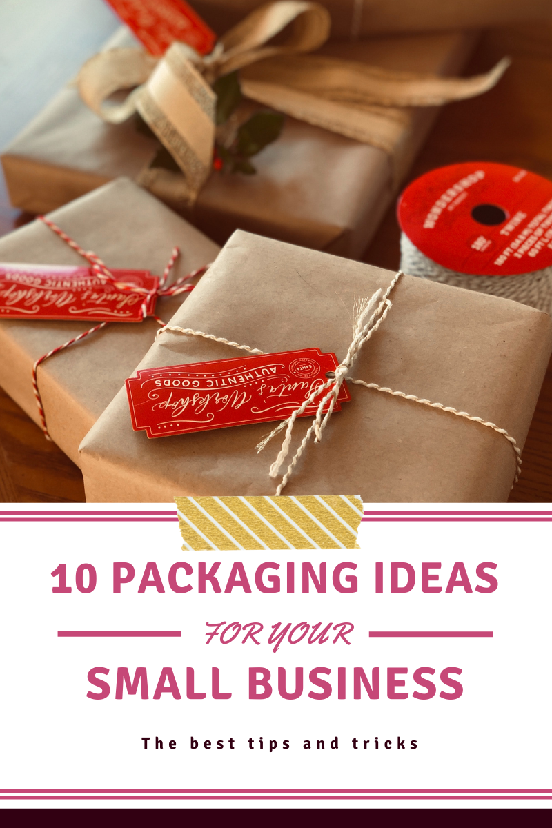 In this guide, we're going to take a look at packaging ideas for your small business!