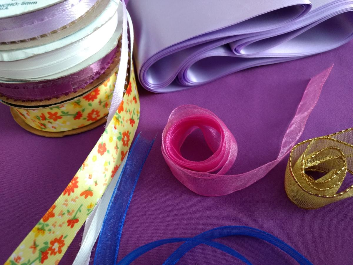 Some beautiful ribbon can work wonders!
