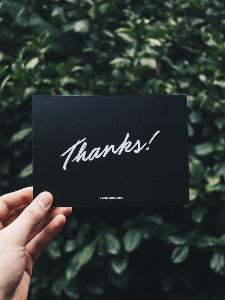 Adding a thank you card can help encourage customers to come back to your shop again, especially if you add a coupon code for future purchases!