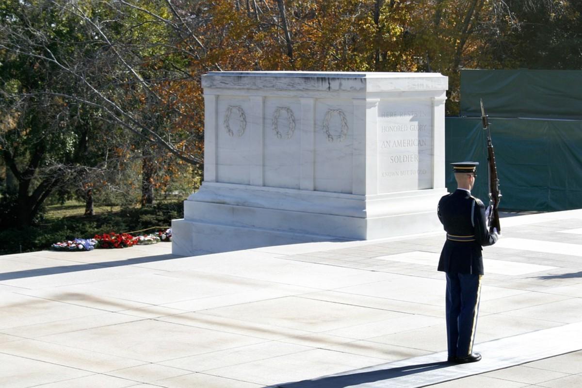 Never forgotten soldier . . .