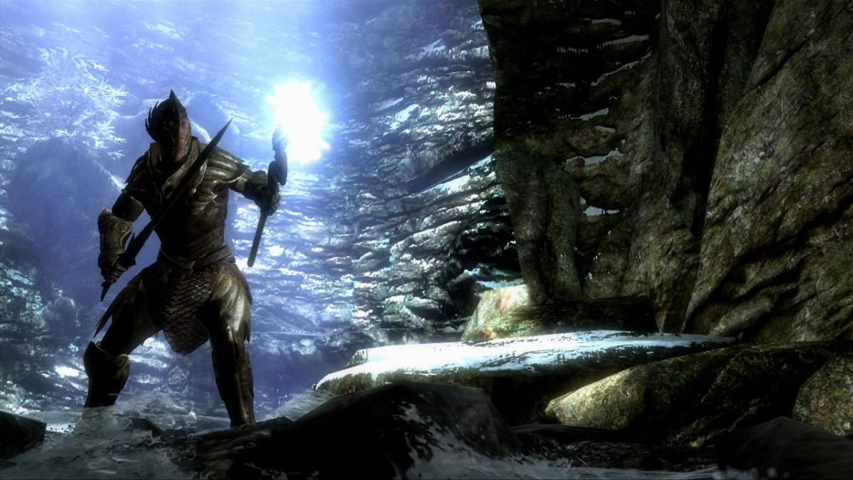 """Gameplay and combat were streamlined in """"Skyrim"""" so that new players could learn its systems easily without prior experience with the genre."""