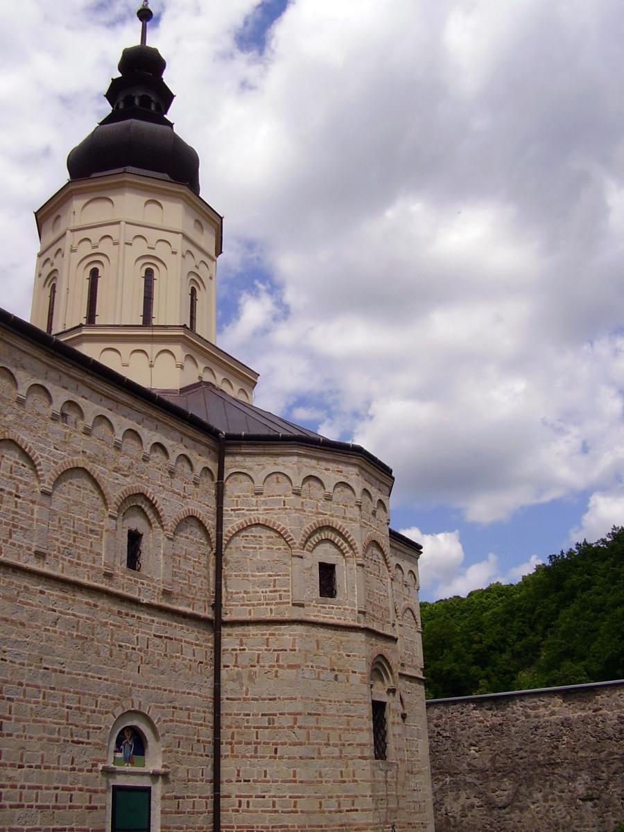 Jazak monastery, Fruška Gora in Serbia