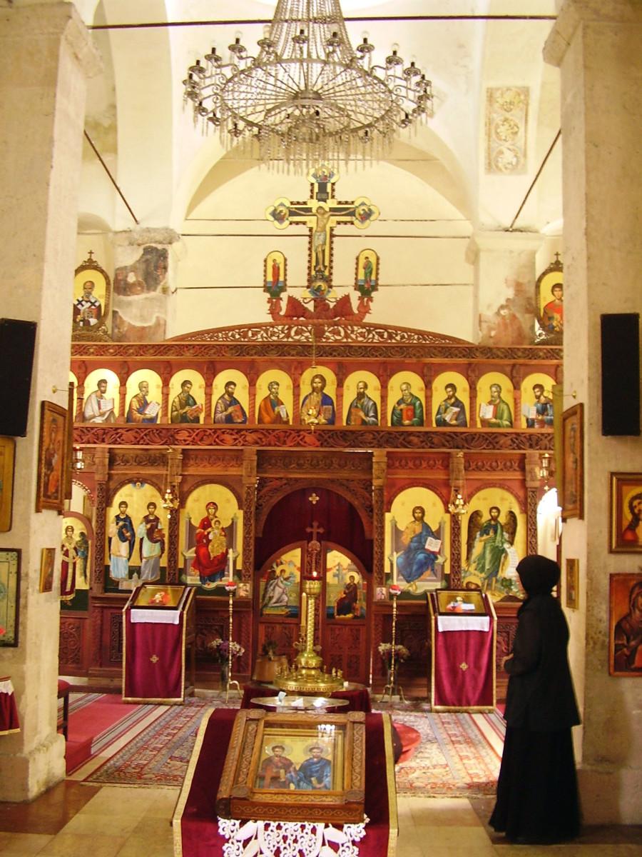Rakovac monastery iconostasis, Fruška Gora, Serbia, 15th century.