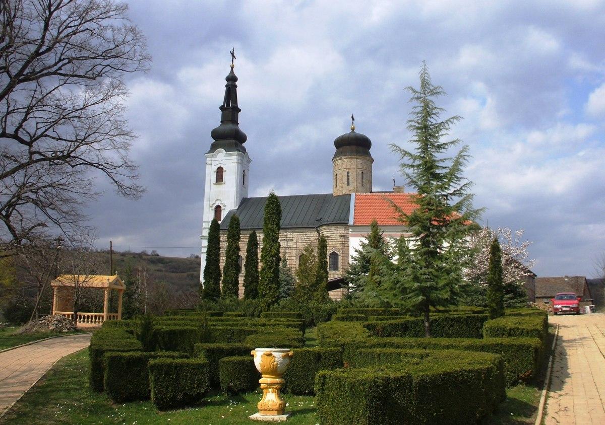 Serbian Orthodox Monastery of Šišatovac, Vojvodina, Serbia.