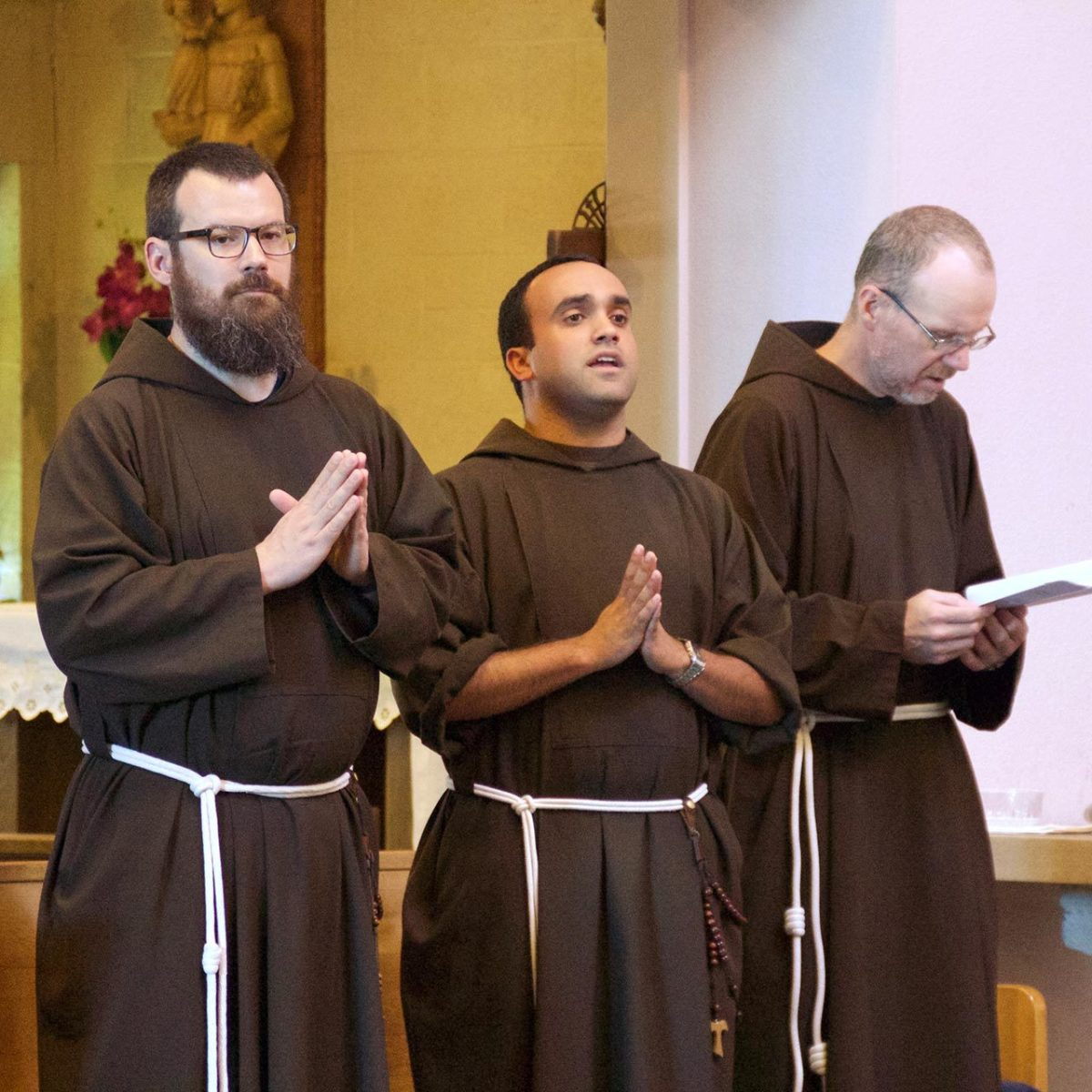 The Capuchin brothers. Source: Capuchin.org.