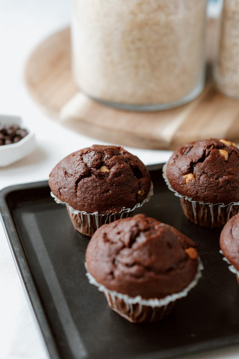 Chocolate Stick Muffins