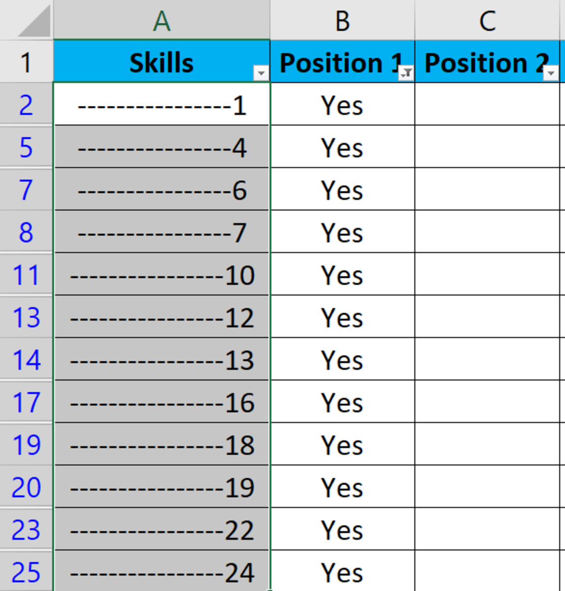 write-your-perfect-customized-resume-using-excel-cv-writing-trick