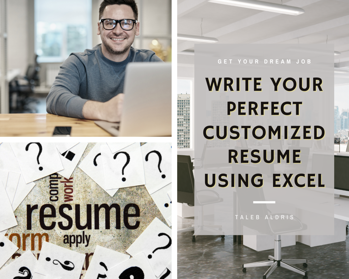 How to Write Your Perfect Customized Resumes Faster Using Excel - a CV Writing Trick