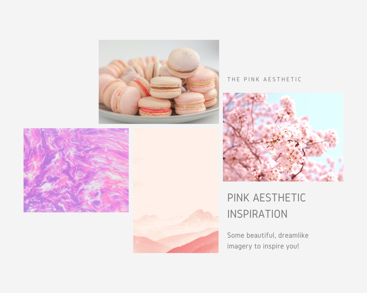 Some examples of pink aesthetic imagery to inspire you!