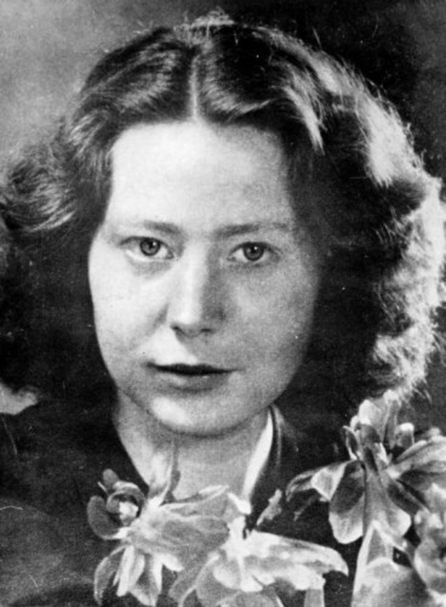 Dutch resistance fighter Hannie Schaft. This photograph is from her college years in Amsterdam, taken sometime between 1938 and 1943.