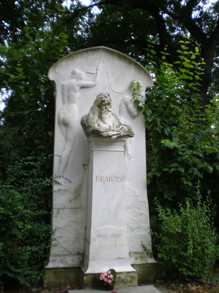 Johannes Brahms's grave