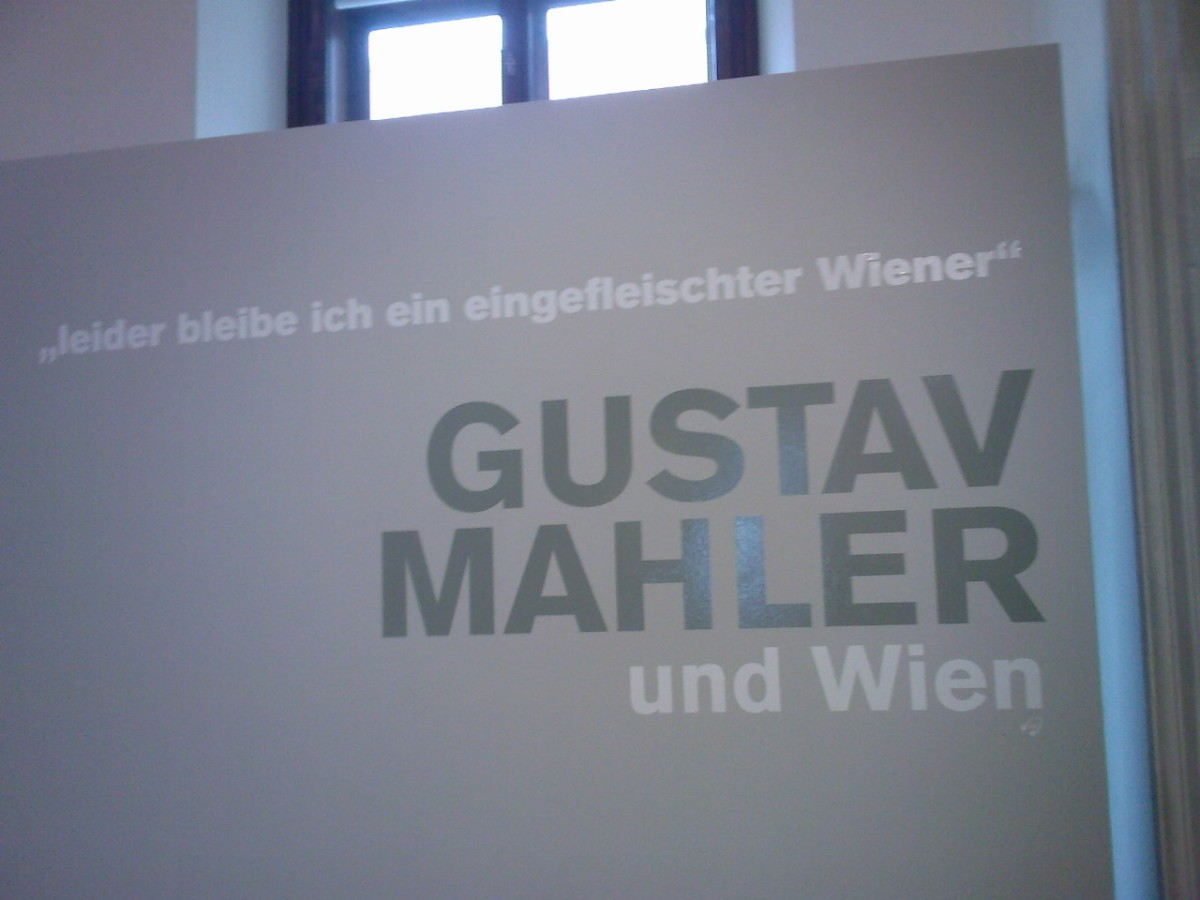 Exhibition at the State Opera Museum about Gustav Mahler, who used to be Director of Hofopern (Court Opera House, predecessor of the current Austria State Opera House) and had a love-hate relationship with the Viennese.