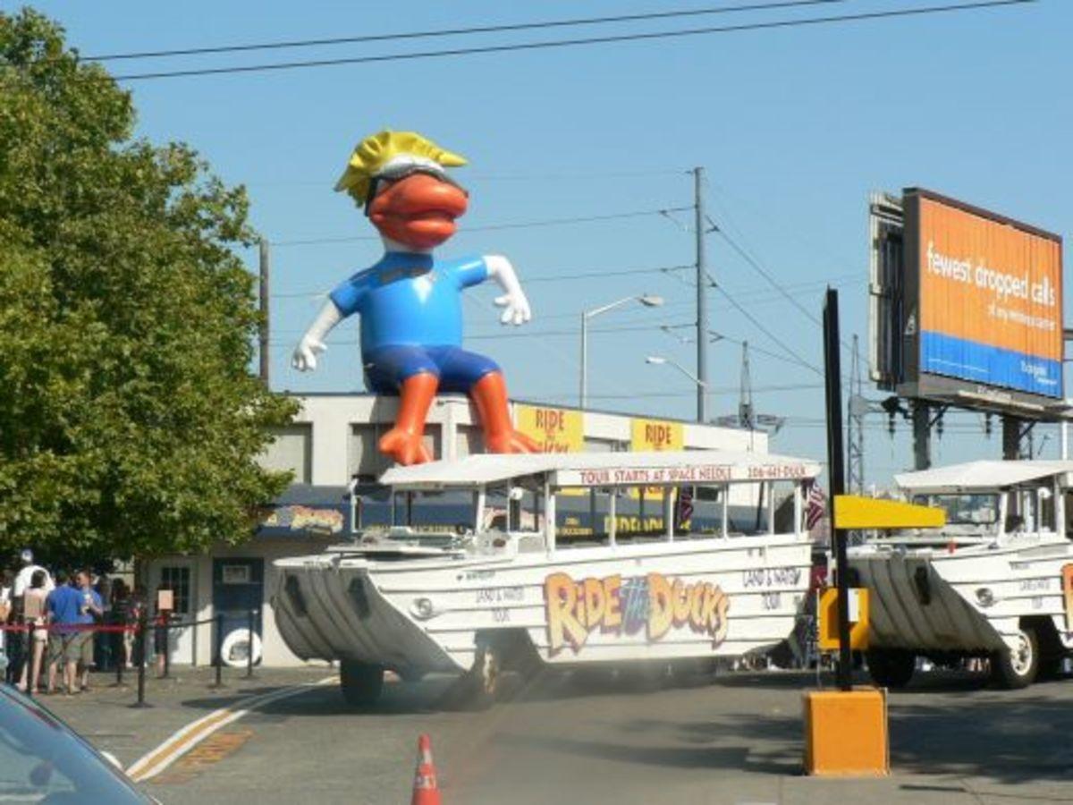 Ride the ducks! pic