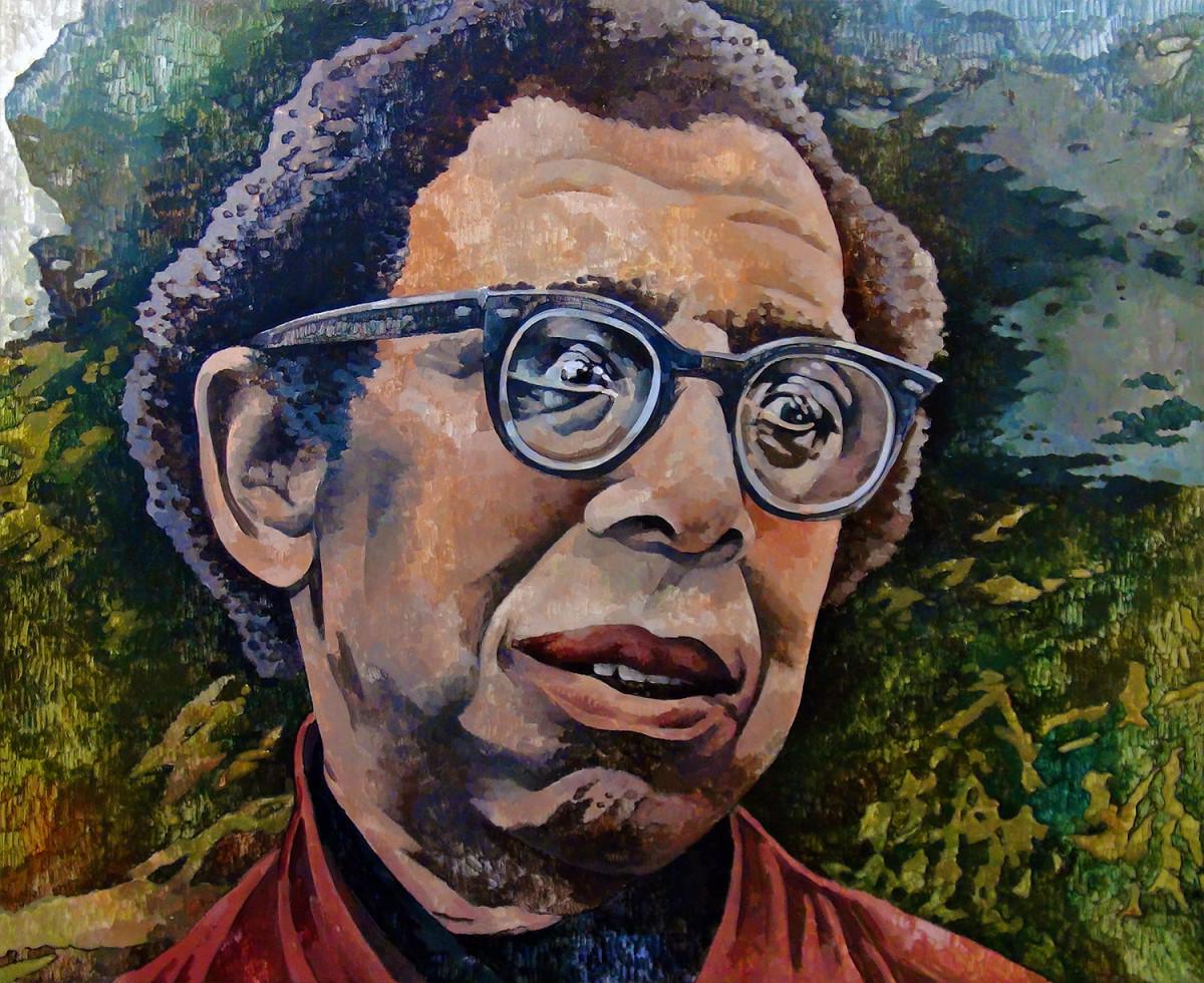 Painting of Robert Hayden