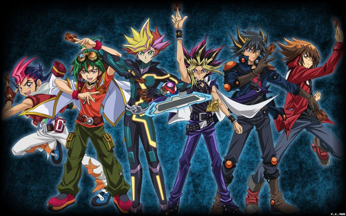 Yu-Gi-Oh! anime protagonists