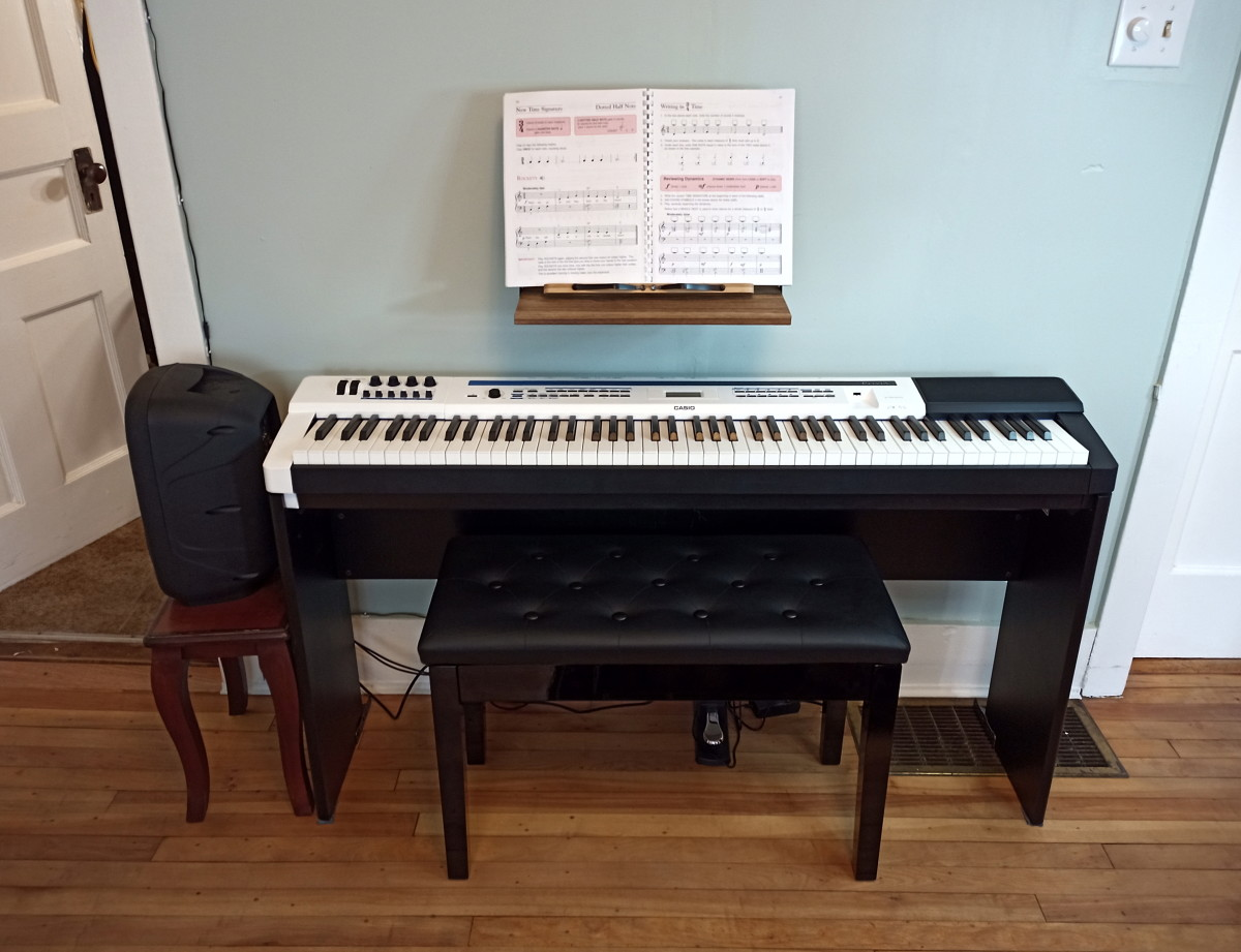 Kunova Padded Double Duet Piano Bench