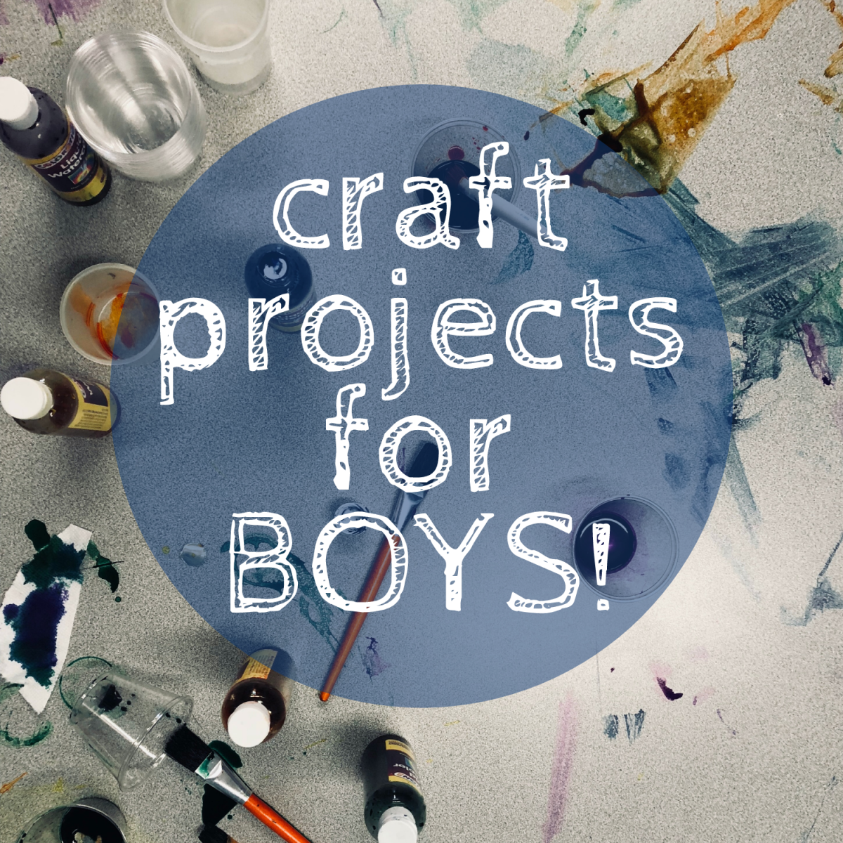 A list of craft projects boys will love!