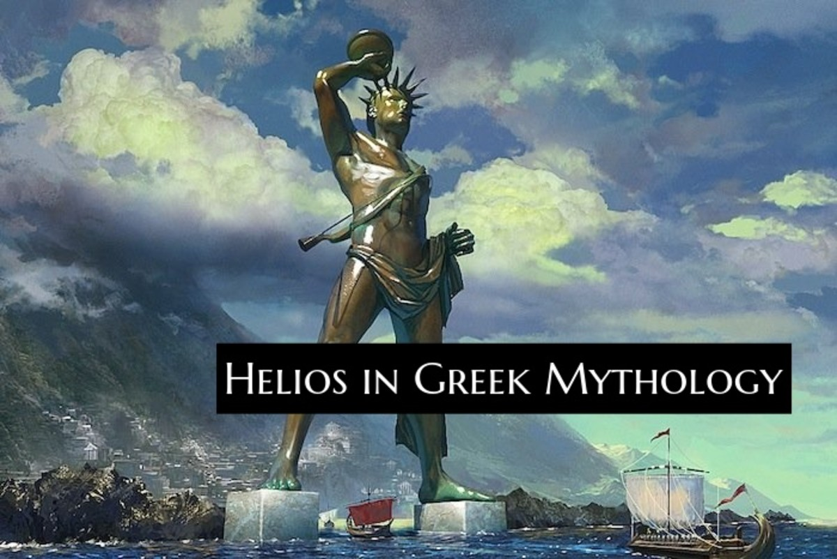 There are plans to recreate a new Colossus of Rhodes. The statue connects to myths around the sun god Helios.