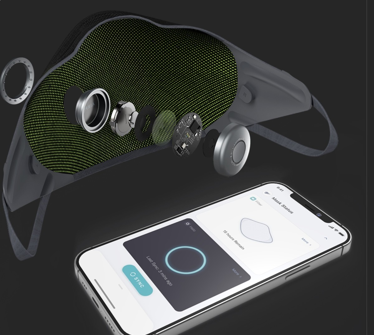 the-airpop-active-halo-smart-mask-is-the-worlds-first-airwearable-for-iphone-and-android-phones