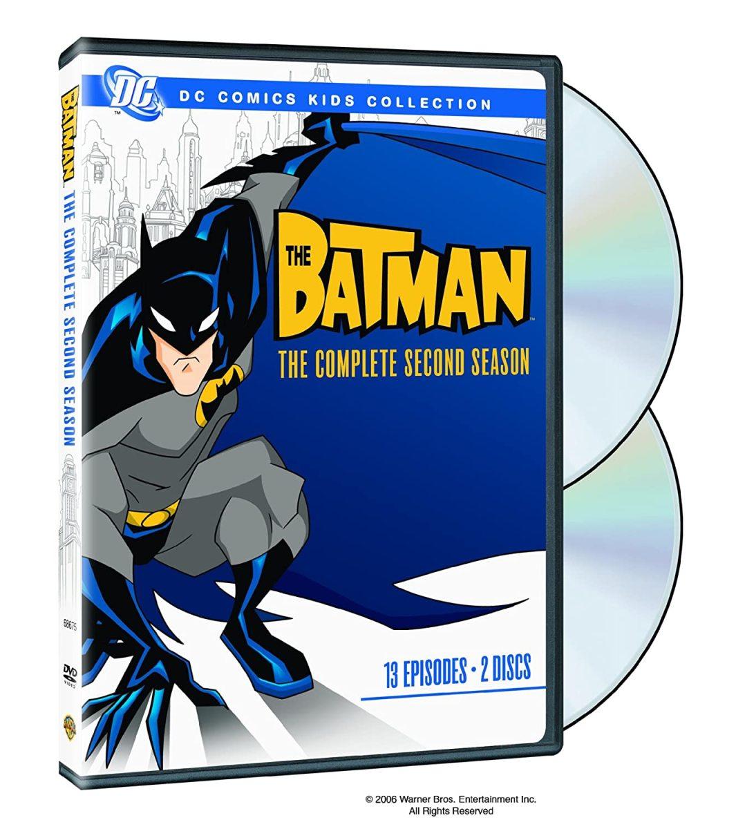 """""""The Batman"""" season 2 official DVD cover."""