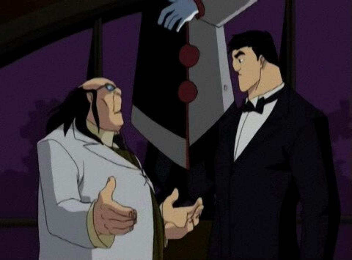 Doctor Hugo Strange meets Bruce Wayne.