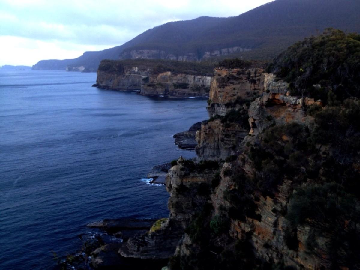 Port Arthur Tasmania Coast line
