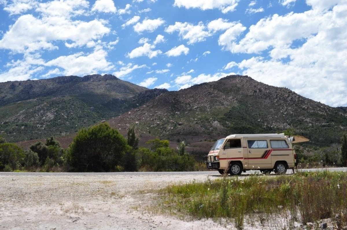 Road-trip to Queenstown, Tasmania in Camper