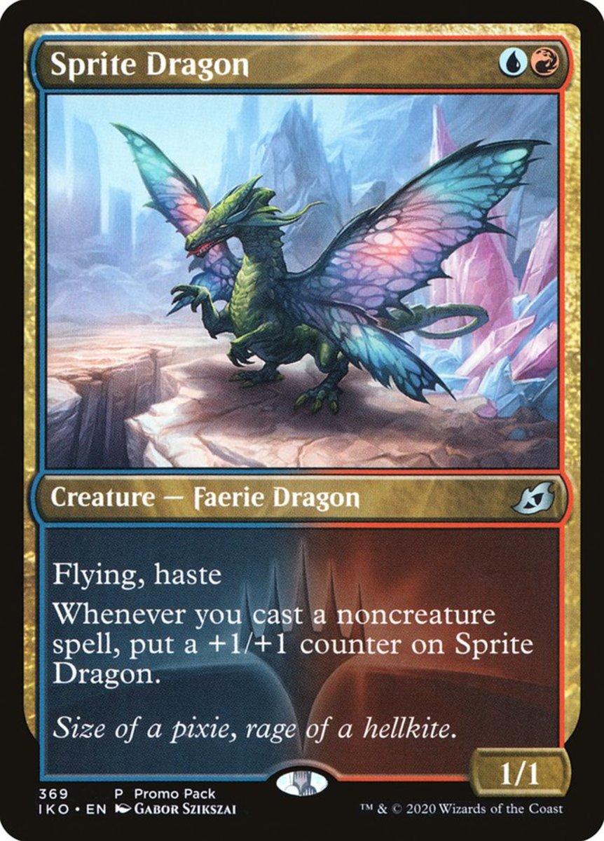 Sprite Dragon mtg