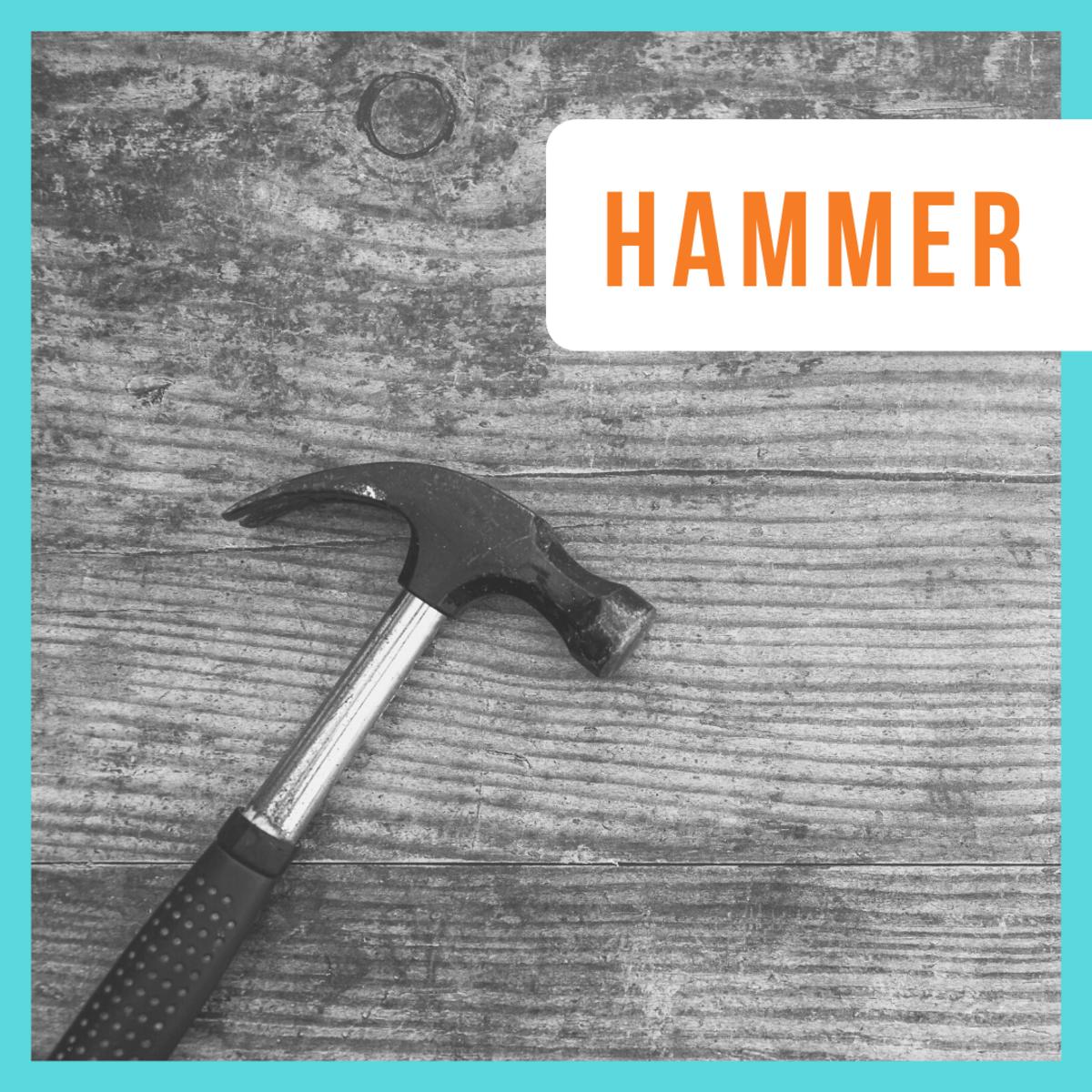 You choose...hammer or screw?