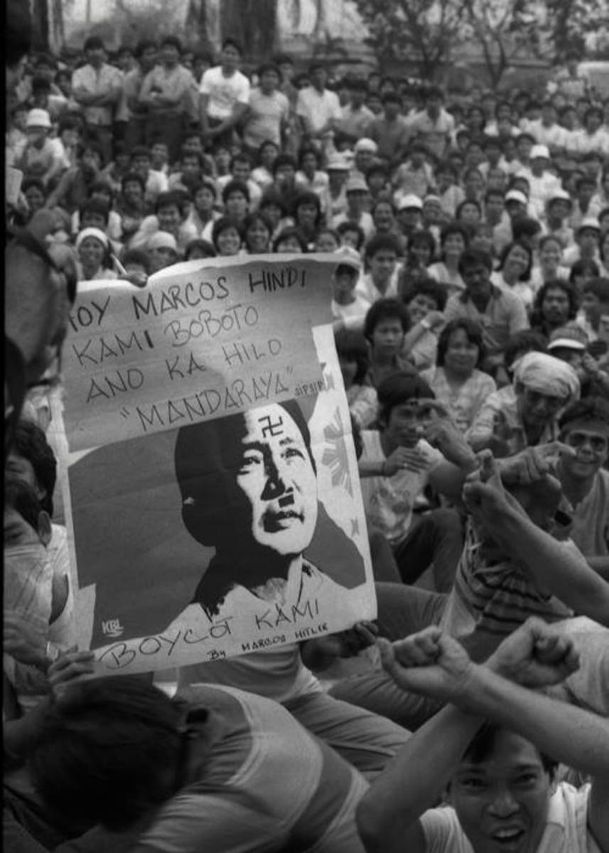 """Boycott 1984 Philippine Parliamentary Elections"""
