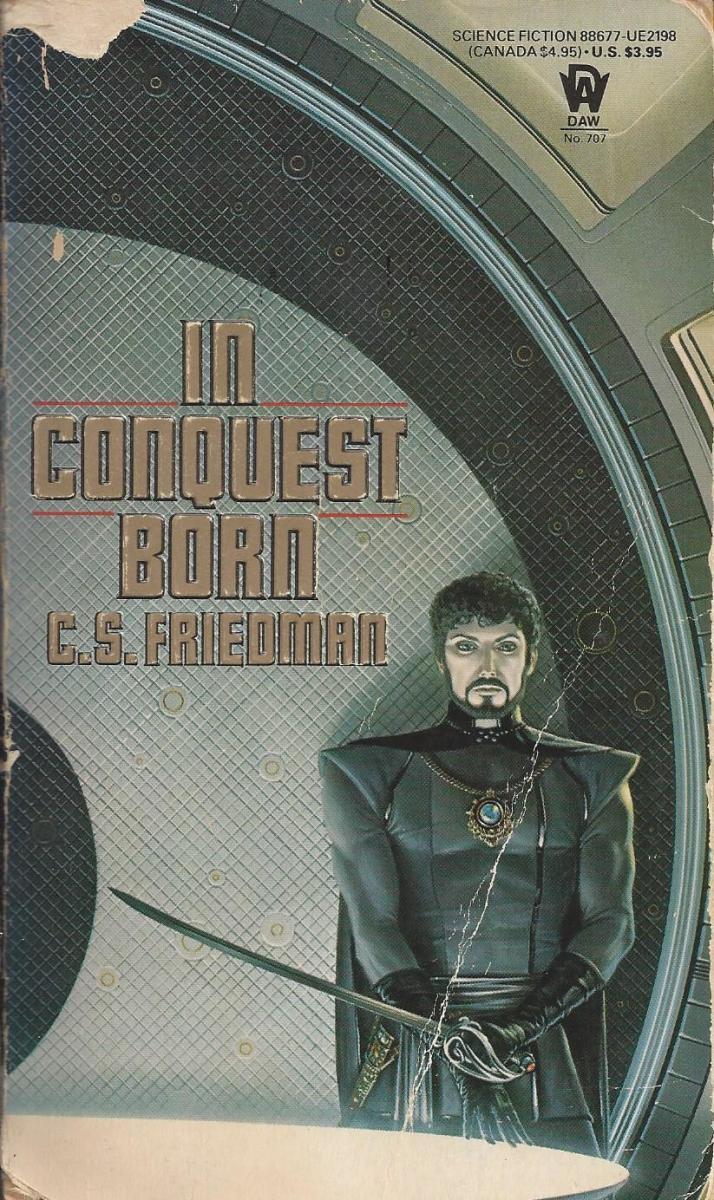 "Book Cover for ""In Conquest Born"""