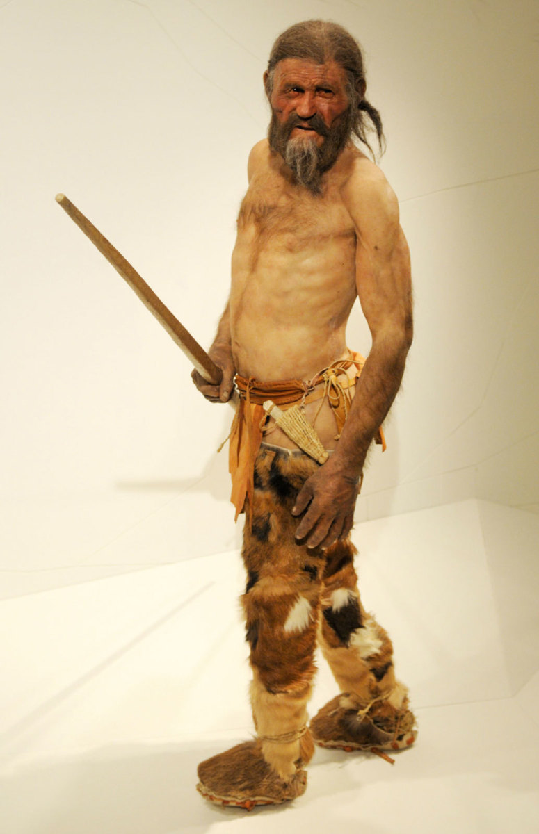 The murder mystery of Ötzi, the iceman is 5,300 years old.