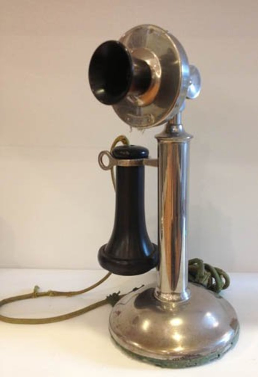 There is a tremendous amount of overlap when discussing telephones. Which style and what technology you used depended, in large part, on where you lived.
