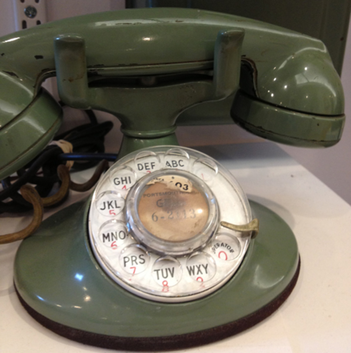 Many folks still living in rural areas still own a rotary dial phone. They prefer to keep such a phone in case of a power outage.