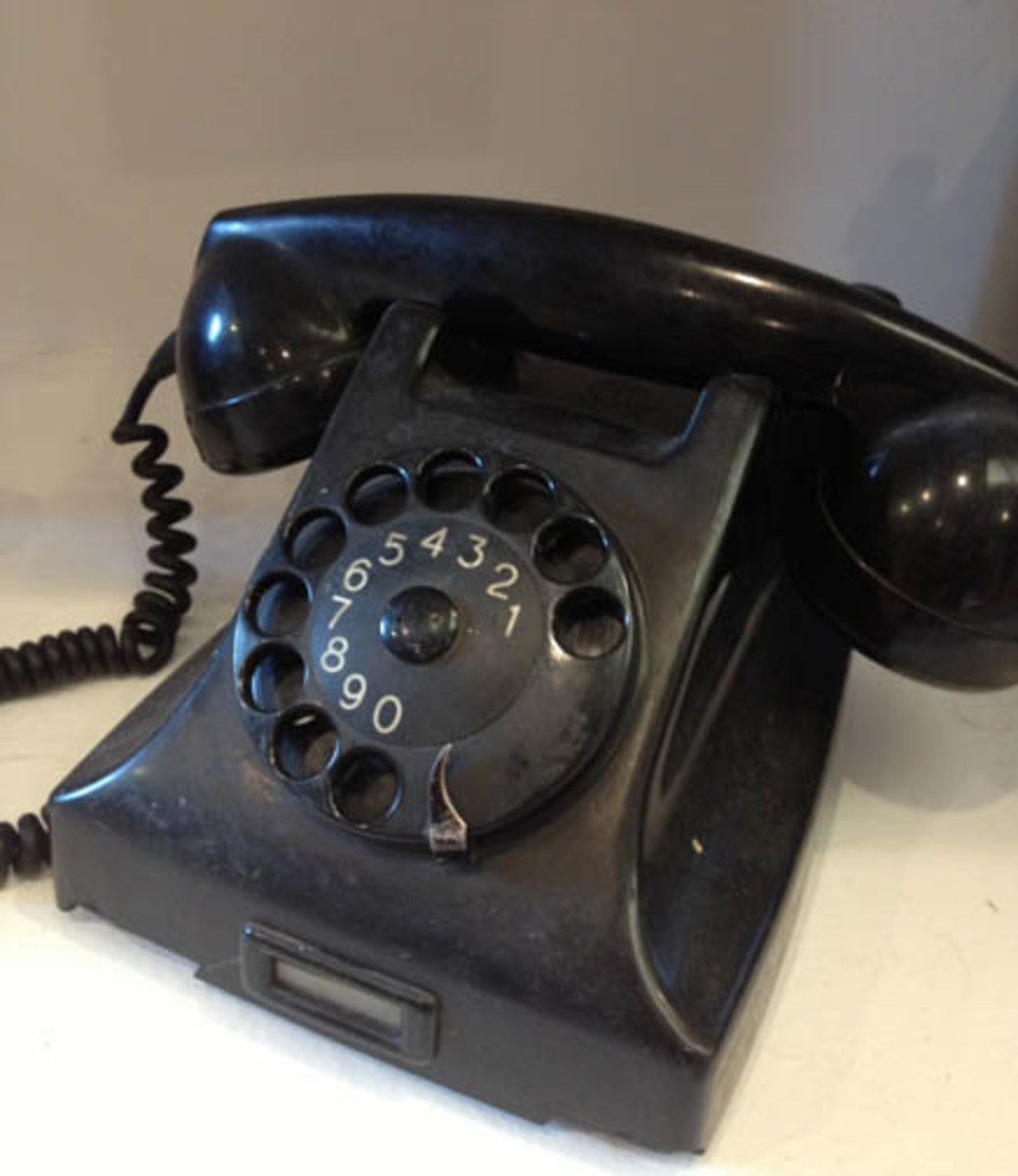 Black was the only color available for many, many years. Like the Ford Motor Co., the telephone industry offered its' customers any color they wanted, so long as it was black.