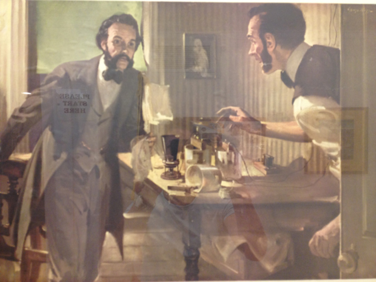 While Bell and Watson came from different geographical areas, much of their work was conducted in and near Boston, MA.
