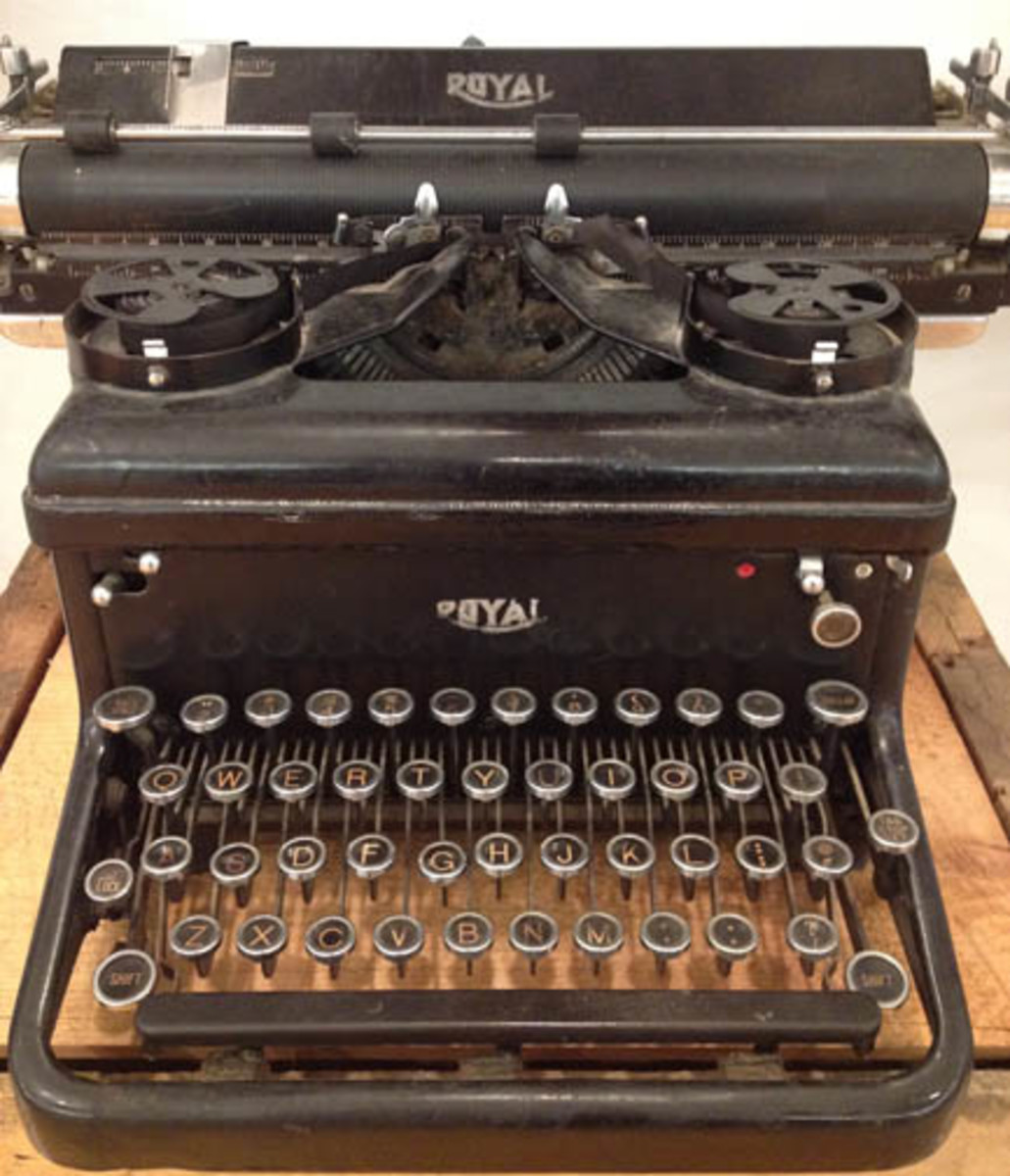 "Seemingly non-related artifacts are placed around the museum, however, as the staff will tell you, seeing these items makes it easier to comprehend history and the historical timeline. ""Folks that used this typewriter would have used this phone"""