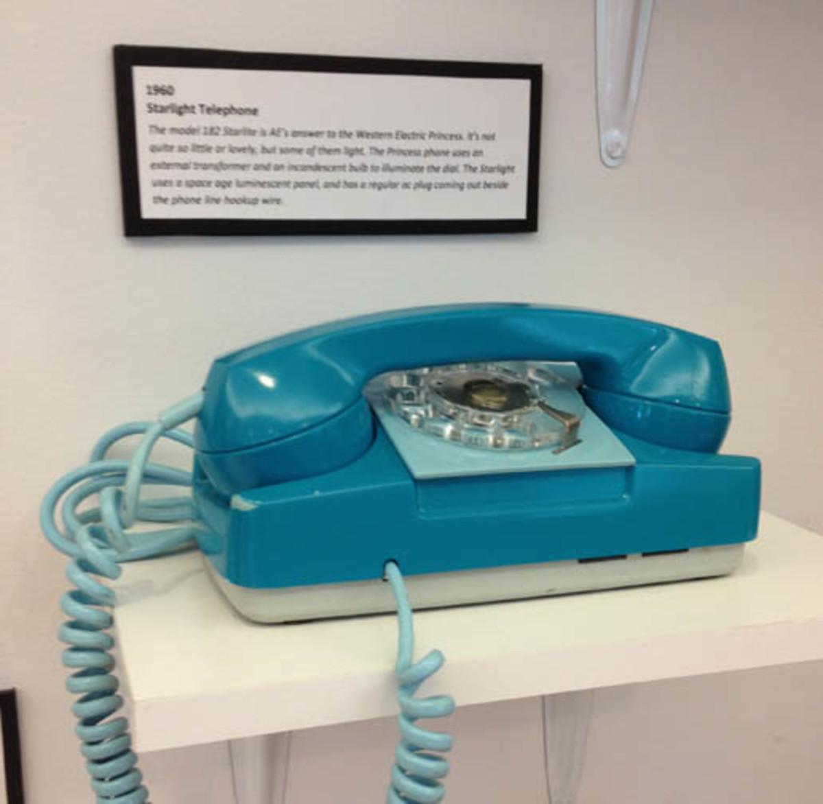 1960 Starlight phone was a popular model. The Princess phone was another popular phone of its day.
