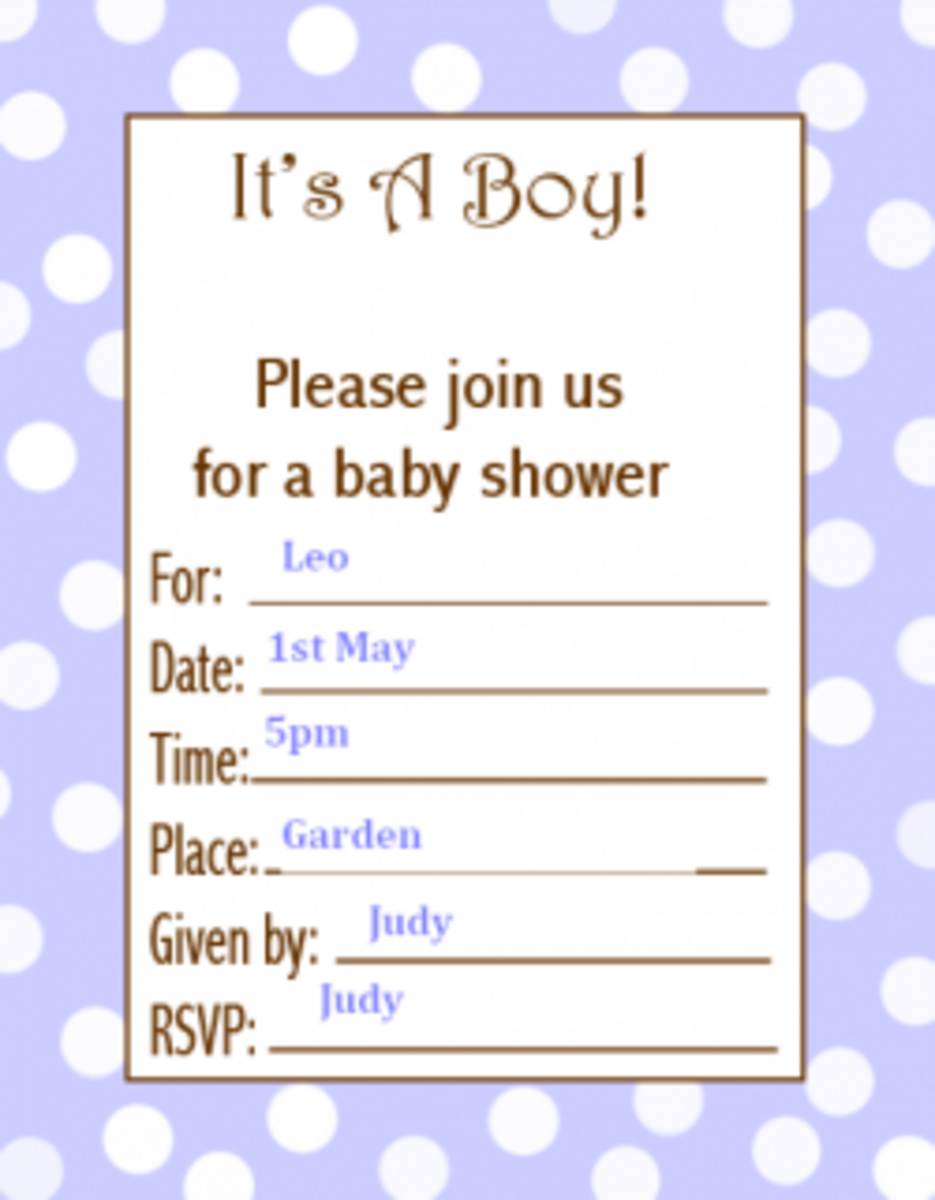 Free printable baby shower invitations for boys and girls for Bridal shower fill in invitations