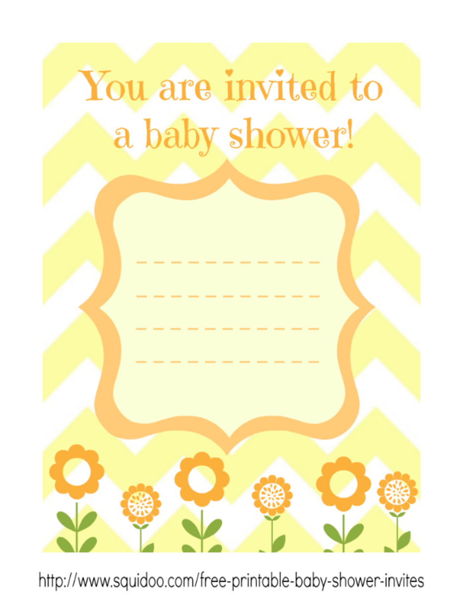 free printable baby shower invitations for boys and girls hubpages