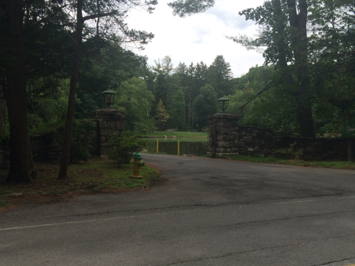 The former Kress Rock Hill Estate today. It's now a city park.