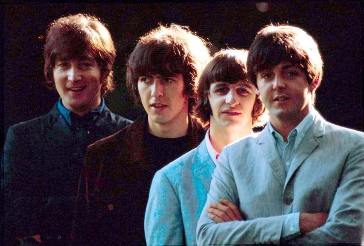 The Beatles in 1965.